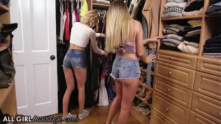 Adria Rae And Her Bestie Emma Hix Play With Step moms Toys Box