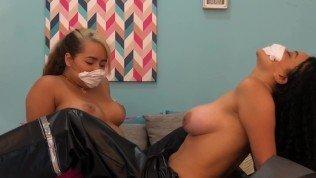 Corona virus patients scissoring her girlfriend – Lesbians