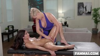 Open Minded Step Daughter Gets a Massage by Ryan Keely and Emily Willis xxx